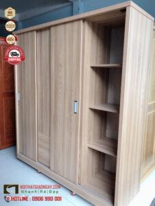 Mẫu tủ áo đẹp giá rẻ, tủ gỗ