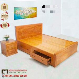 Giường ngủ gỗ mặt phản, đẹp giá rẻ