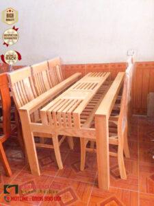bộ bàn ghế gỗ, đẹp, giá rẻ, bàn ghế ăn