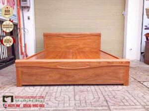 Giường ngủ gỗ căm xe
